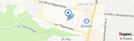 Ставропольстройэнерго на карте Ставрополя