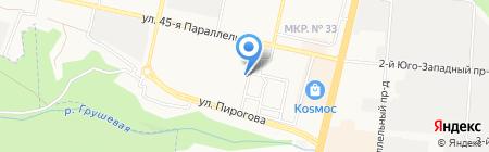 MR.KRABS на карте Ставрополя