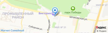 Маслёнка на карте Ставрополя