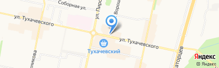 Добрый хлеб на карте Ставрополя
