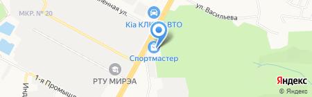 Спортмастер на карте Ставрополя