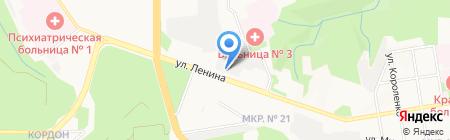 Сила+ на карте Ставрополя