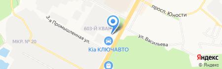 Мапеи на карте Ставрополя