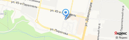 Эль на карте Ставрополя