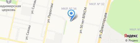 Английский? Окей! на карте Ставрополя