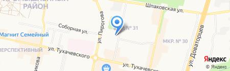 WTS на карте Ставрополя
