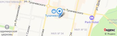 Любимая 2 в 1 на карте Ставрополя