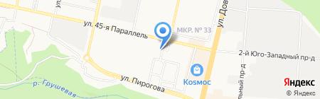 Финские Краски на карте Ставрополя
