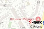 Схема проезда до компании Tattoo26 в Ставрополе