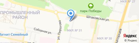 Доват на карте Ставрополя