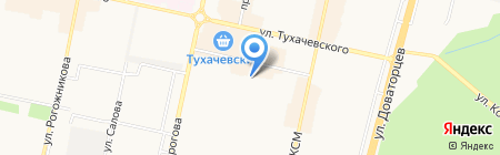 Гардинный мир на карте Ставрополя