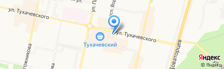 Вираж на карте Ставрополя
