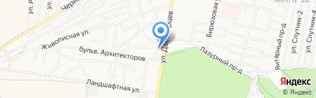 Палитра на карте Ставрополя