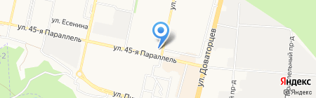 Прямой эфир на карте Ставрополя