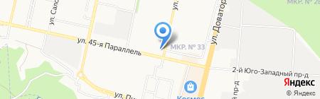 Крош на карте Ставрополя