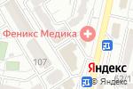 Схема проезда до компании Идеал потолок в Ставрополе