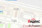 Схема проезда до компании ВИZИТ.КА в Ставрополе