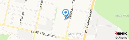 Оптовый на карте Ставрополя