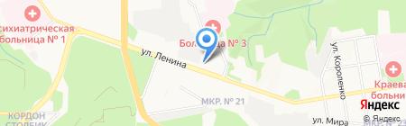 Управление МВД России по г. Ставрополю на карте Ставрополя