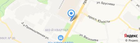 Избушка на карте Ставрополя