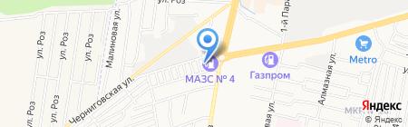 Ставропольавтотранс на карте Ставрополя
