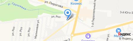 Гвоздь и молот на карте Ставрополя