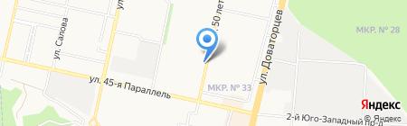 СПЛАВ-Ставрополь на карте Ставрополя