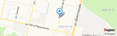 Мясное подворье на карте Ставрополя