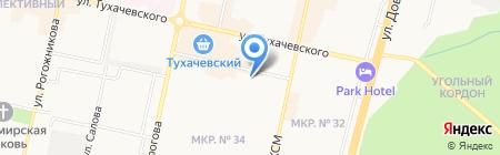 Мастер-Мебель на карте Ставрополя