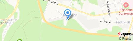 Гарден сити на карте Ставрополя