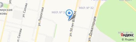Мишель на карте Ставрополя