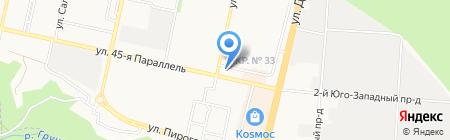 Фемида-ст на карте Ставрополя
