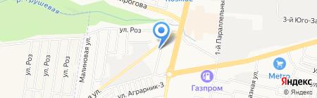 САНА на карте Ставрополя