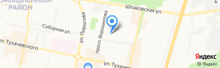 Федерация тхэквондо (ГТФ) г. Ставрополя на карте Ставрополя