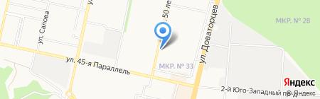 Ставропольские Сладости на карте Ставрополя