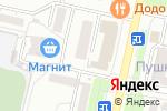 Схема проезда до компании Профи в Ставрополе