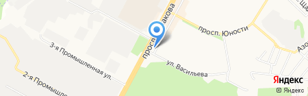 Скиф на карте Ставрополя