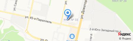 Империя Лис на карте Ставрополя