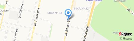 Sabotage на карте Ставрополя