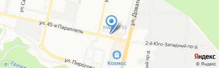 ЮгРегионРесурс на карте Ставрополя