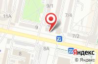 Схема проезда до компании Руст в Ставрополе