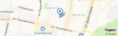 Детский сад №62 на карте Ставрополя