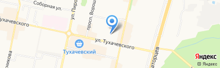 Богемия Elite на карте Ставрополя