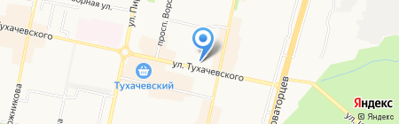 СБК на карте Ставрополя