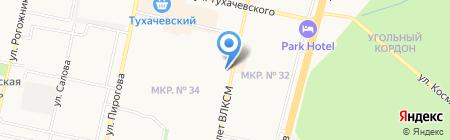 32 Друга на карте Ставрополя