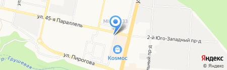 Банкомат КБ ЕвроситиБанк на карте Ставрополя