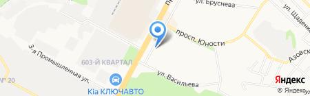 Магдалина на карте Ставрополя