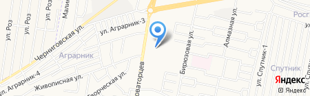 Фурнитура-Натали на карте Ставрополя