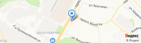 Весна на карте Ставрополя
