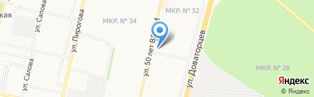 Русэлит Фарма на карте Ставрополя